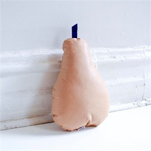Pear cushion - Terracotta
